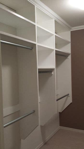 Building A Closet Shelf by Walk In Closet Make On Budget