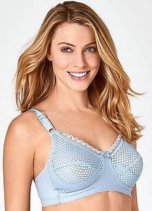 Miss Mary of Sweden Firm Support Soft Cup Bra | Kaleidoscope
