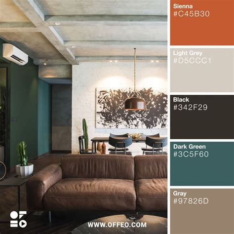 modern home color palettes  inspire  interior