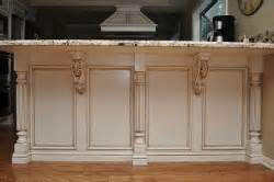kitchen island with posts how to install corbels and brackets osborne wood