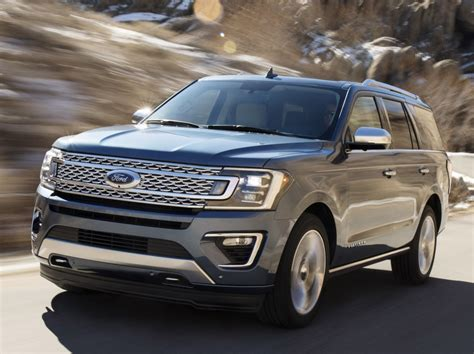 New Ford Suv 2018 by All New 2018 Ford Expedition Suv To Get Innovative Trailer