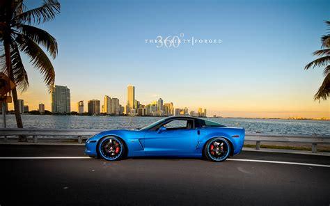 corvette  jetstream blue wallpaper hd car wallpapers