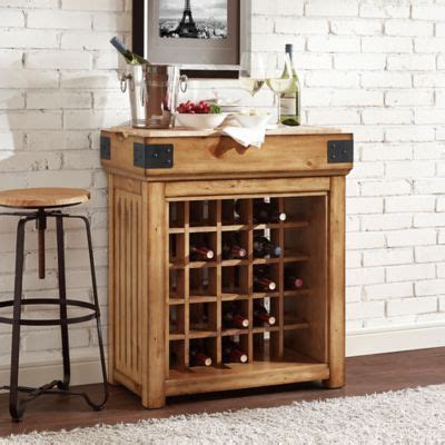 buy wooden wine rack from bed bath beyond