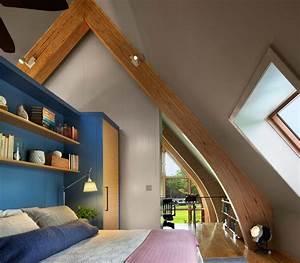Aus Einem Zimmer Zwei Kinderzimmer Machen : wohnideen f r dachschr gen dachzimmer optimal gestalten ~ Lizthompson.info Haus und Dekorationen
