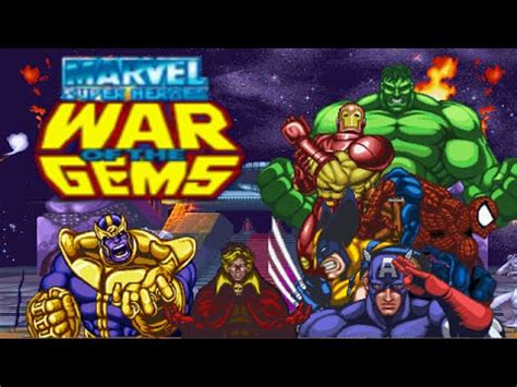 marvel super heroes war   gems  bosses