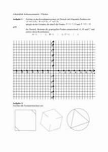 Achsensymmetrie Berechnen : 4teachers lehrproben unterrichtsentw rfe und unterrichtsmaterial f r lehrer und referendare ~ Themetempest.com Abrechnung