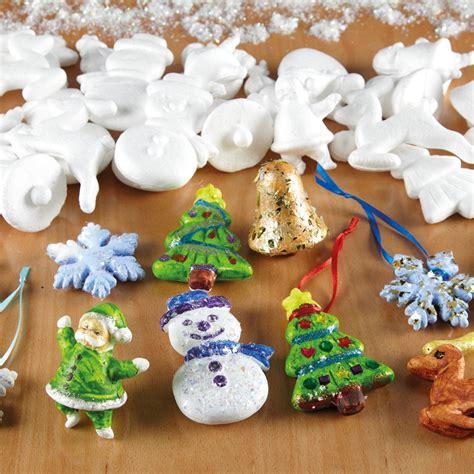buy assorted polystyrene christmas decorations pk tts