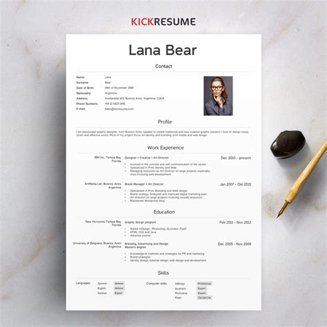 Tips To Get Your Resume Noticed by 7 Tips To Get Your Resume Noticed In The Blink Of An Eye
