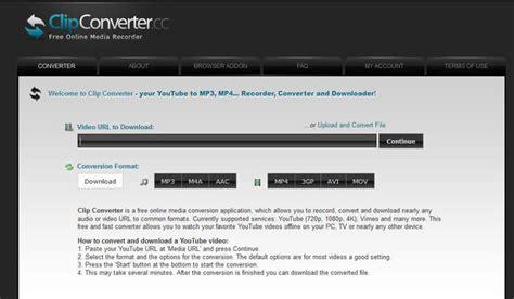 clipconverter youtube  mp mp converter softlay