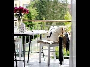 6 idees pour amenager son balcon youtube With meubler son appartement pas cher