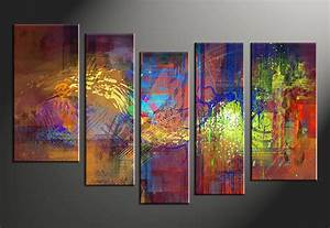 Piece-abstract-vintage-colorful-wall-art