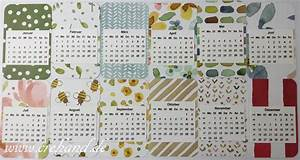 Kalender Selber Basteln : kalender crehand stamp it ~ Lizthompson.info Haus und Dekorationen