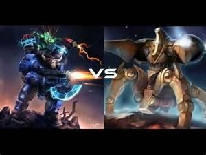 Epic Unit Battles of StarCraft 2 | #1: Tauren Space Marine ...