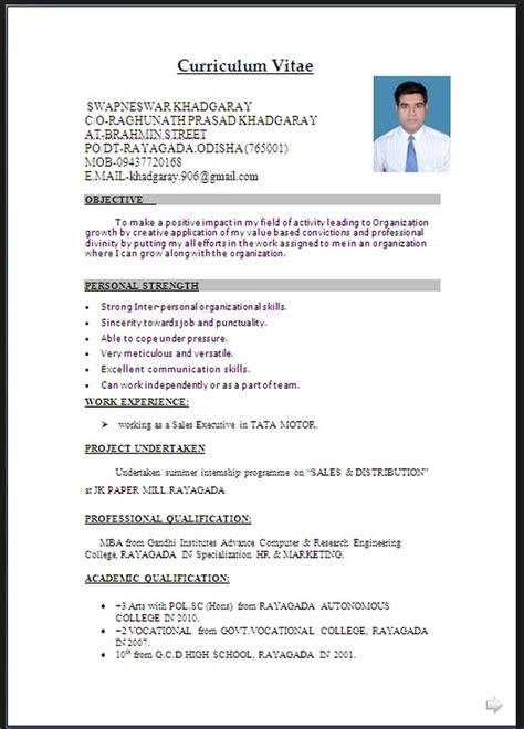 resume word documents  downloadable