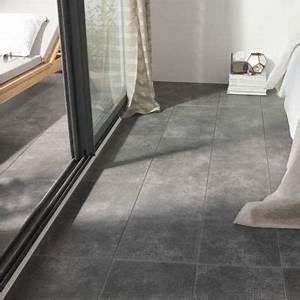 Carrelage Terrasse Gris : carrelage terrasse gris anthracite 30 x 60 cm colours tribeca castorama ~ Nature-et-papiers.com Idées de Décoration