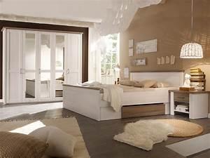 Schlafzimmer In Weiß Einrichten : luba komplett schlafzimmer pinie weiss tr ffel ~ Michelbontemps.com Haus und Dekorationen
