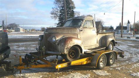 dry stored beauty  studebaker pickup
