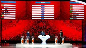 The Official FIFA World Cup 2018 Group Stage Draw
