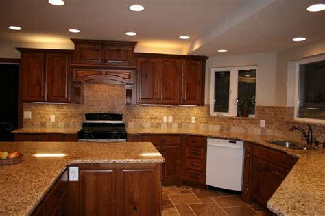 cherry kitchen cabinets with granite countertops cherry cabinets with granite countertops home d 9416