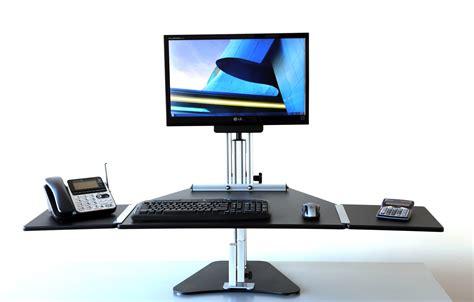 Ergo Standing Desk Kangaroo by Ergo Desktop Kangaroo Hybrid Size Unit