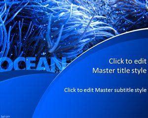 ocean  template  powerpoint templates