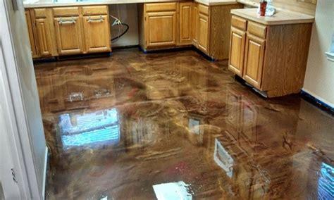 epoxy flooring vs stained concrete brown dining rooms painted concrete floors epoxy stained concrete floors floor ideas artflyz com