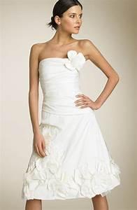 wedding dress therewentthebridecom With wedding rehearsal dress