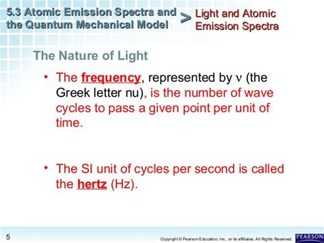 lesson 5 3 light and atomic emission spectra atomic emission spectra and the quantum mechanical model