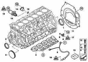 Original Parts For E60 523i N52 Sedan    Engine   Engine