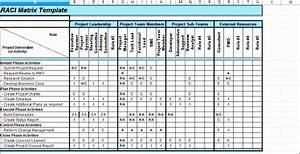 10 roles and responsibilities matrix template excel With service matrix template