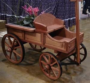 Medium Rustic Buckboard Wagon by Dutchcrafters Amish Furniture