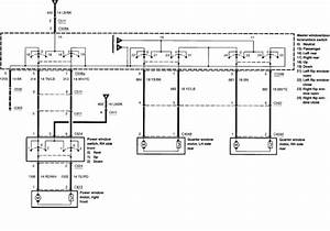 2003 Ford Windstar Power Window Wiring Diagram