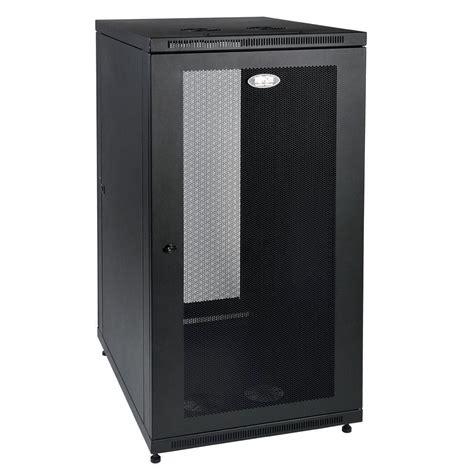 tripp lite smartrack  unit deep rack enclosure cabinet