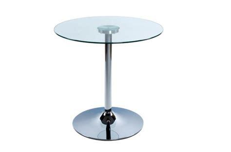 table basse verre ronde transparent tables d appoint pas cher