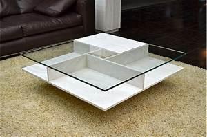 Table Basse Marbre But : table basse pierre et verre en marbre haut de gamme lancaster living 39 roc ~ Teatrodelosmanantiales.com Idées de Décoration