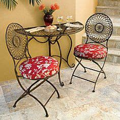 bistro set on furniture sets patio and patio
