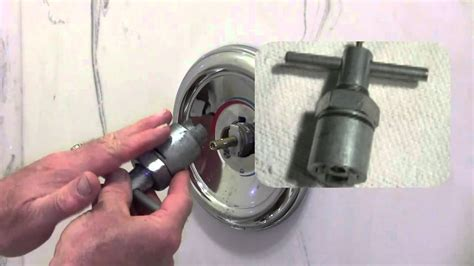 Moen Stanadyne Faucet Cartridge by How To Repair A Moen Shower Tub Valve Youtube