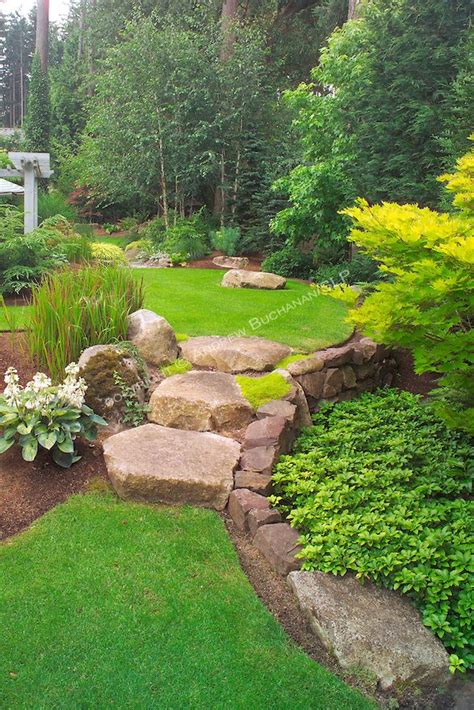Suburban Backyard Landscaping Ideas by 1000 Images About Landscaping A Slope On