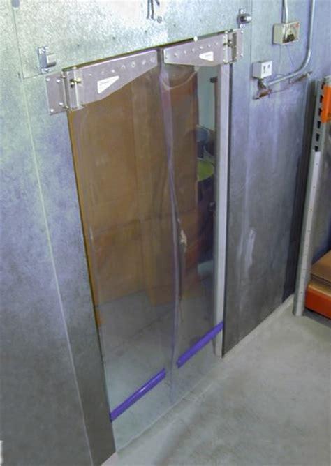 arctic seal bi parting walk in cooler freezer doors berner
