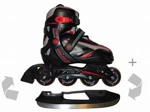 Inline Skates Kinder Test : schlittschuhe inline skates kinder rollschuhe 32 35 2in1 ~ Jslefanu.com Haus und Dekorationen