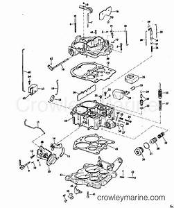 Carburetor Group Rochester Model 7028282 210 Hp