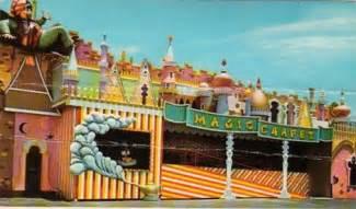 Magic Carpet ride at Petticoat Junction Amusement Park, Pa ...