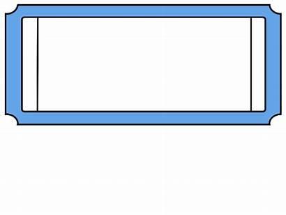 Ticket Clip Tickets Raffle Clipart Printable Generic