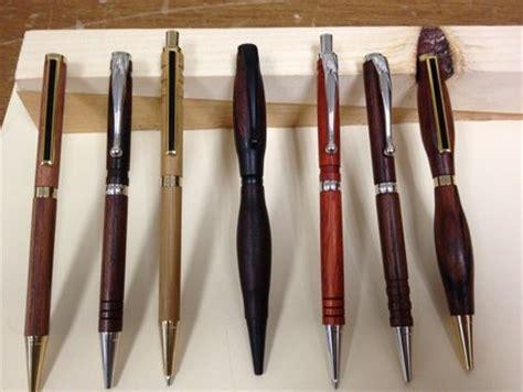 lathe turned pens  mechanical pencils  slackk