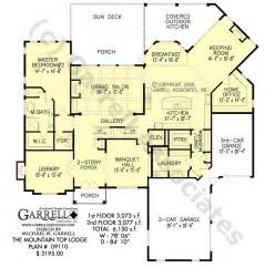 Pictures Mountain House Floor Plans by Mountain Top Lodge Rustic House Plan