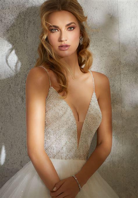 leandra wedding dress style  morilee