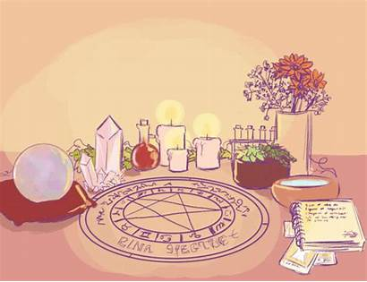 Altar Witch Witchcraft Pagan Altars Witchy Witches
