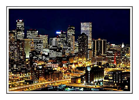 mile high city skyline  photo  colorado west