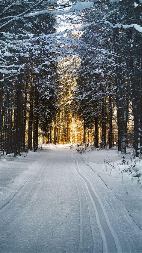 nx snow street mountain light winter nature wallpaper