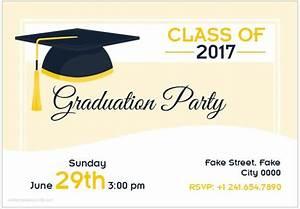 10 best graduation party invitation card templates ms word formal word templates With graduation invitation templates microsoft word
